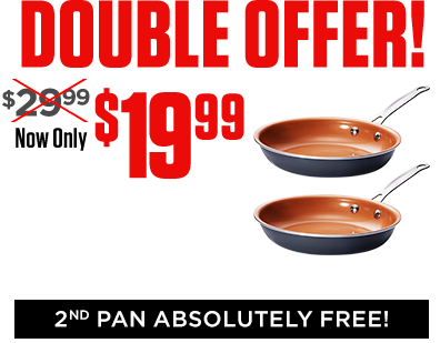 Copper Gotham Steel™ Pans | The newest non-stick cookware